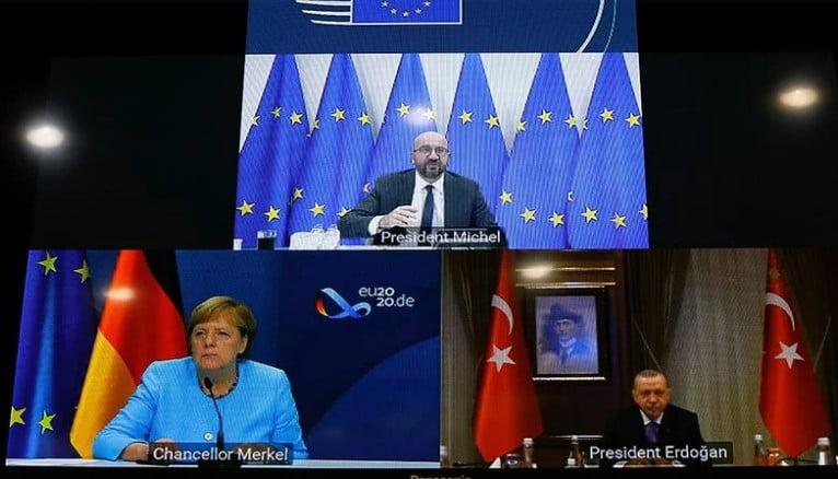 Τριμερής Μέρκελ – Μισέλ – Ερντογάν: Έτοιμοι για διάλογο δηλώνουν οι Τούρκοι – Πετούν το μπαλάκι στην Ελλάδα