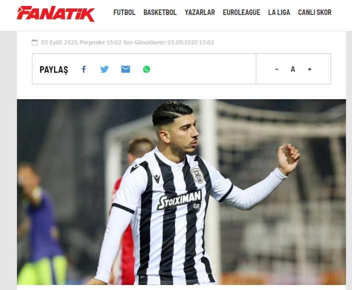 """""""Ελληνομάζωμα"""" στην Τουρκία! Ο Ερόλ Μπουλούτ θέλει παίκτη του ΠΑΟΚ στη Φενέρ"""