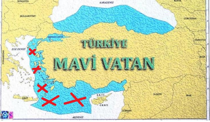 """Τούρκος ακαδημαϊκός: """"Η Γαλάζια Πατρίδα είναι καταδικασμένη σε αργό θάνατο"""""""