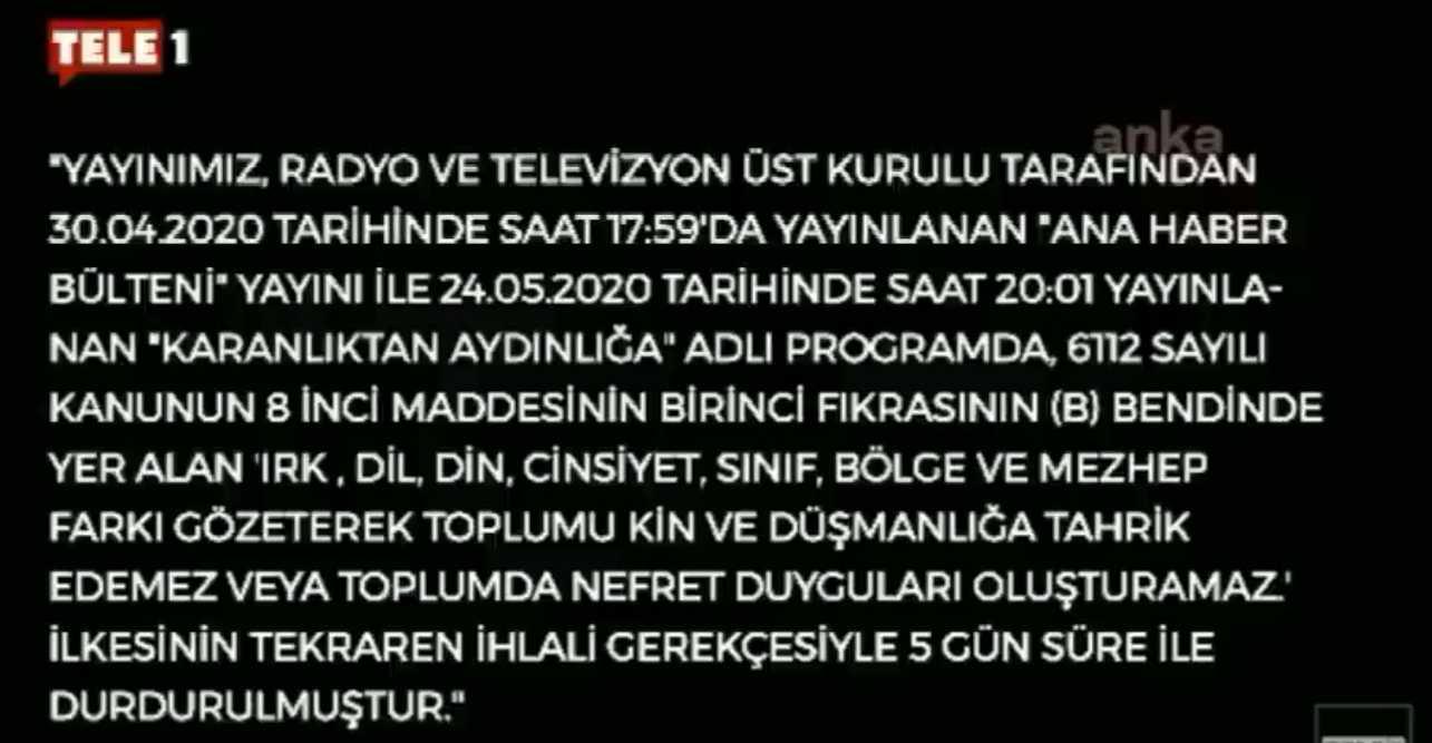 Θαυμάστε δημοκρατία! Μαύρο σε αντικαθεστωτικό κανάλι στην Τουρκία (ΒΙΝΤΕΟ)