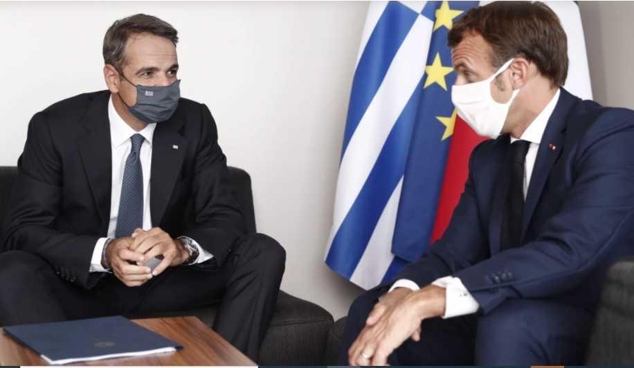 Κορσική: Απόλυτη συμφωνία Μητσοτάκη με Μακρόν – Κοινό μήνυμα για κυρώσεις σε βάρος της Άγκυρας