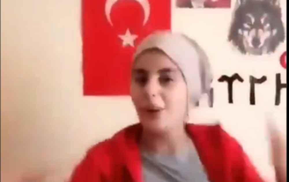 """Τα βλέπουν οι δικοί μας """"ευαισθητούληδες""""; Αυτά έχουμε απέναντί μας:  Τουρκάλα Γκρίζος Λύκος χαίρεται με τον βιασμό και τις δολοφονίες Κούρδων γυναικών"""