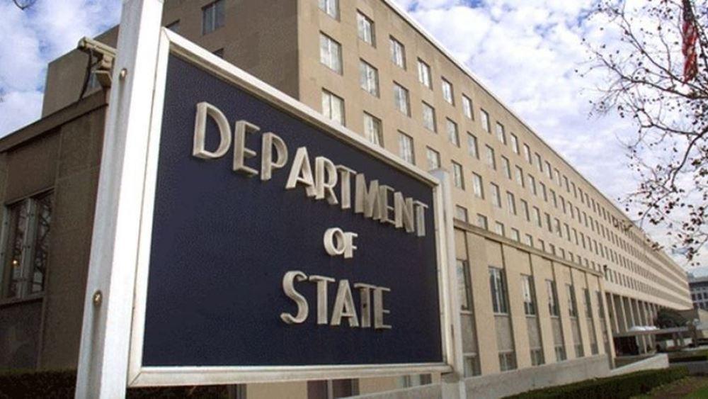 Στέιτ Ντιπάρτμεντ: Οι ΗΠΑ ανησυχούν βαθιά για τις συνεχιζόμενες ερευνητικές επιχειρήσεις της Τουρκίας