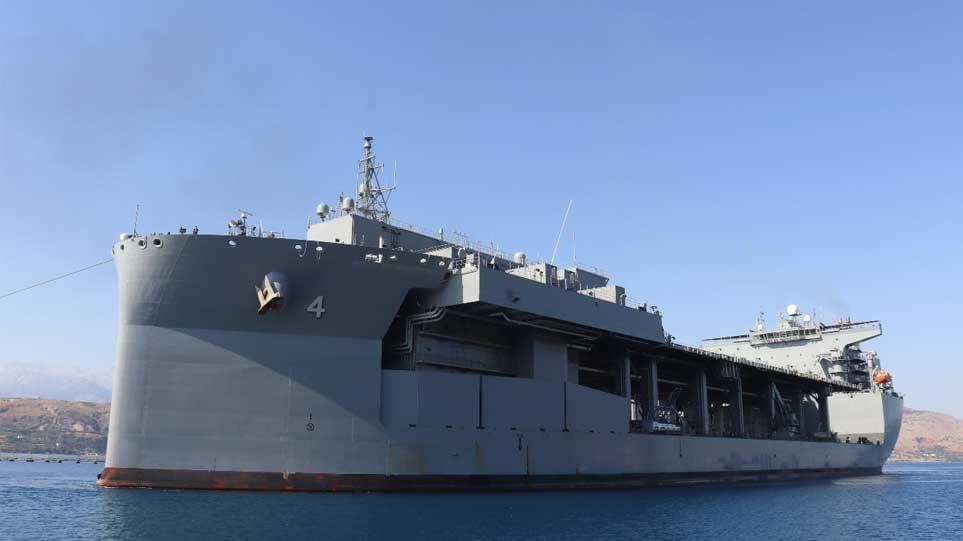 Ποιο είναι το ελικοπτεροφόρο USS Hershel «Woody» Williams που έρχεται στη Σούδα