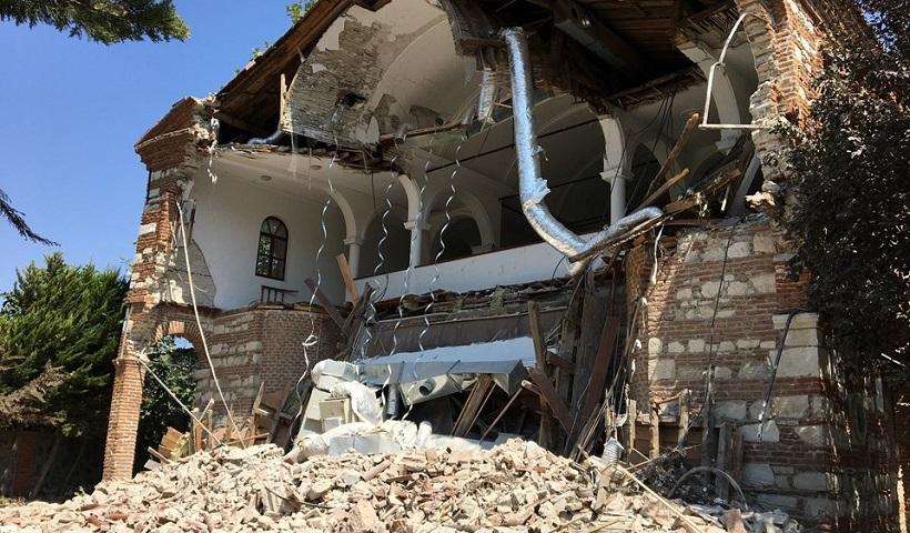 Ο ορισμός του παραλόγου στην Τουρκία: Κατεδάφισαν ιστορική εκκλησία για την οποία είχαν ξοδέψει 2 εκατ.Ευρώ για να την ανακατασκευάσουν