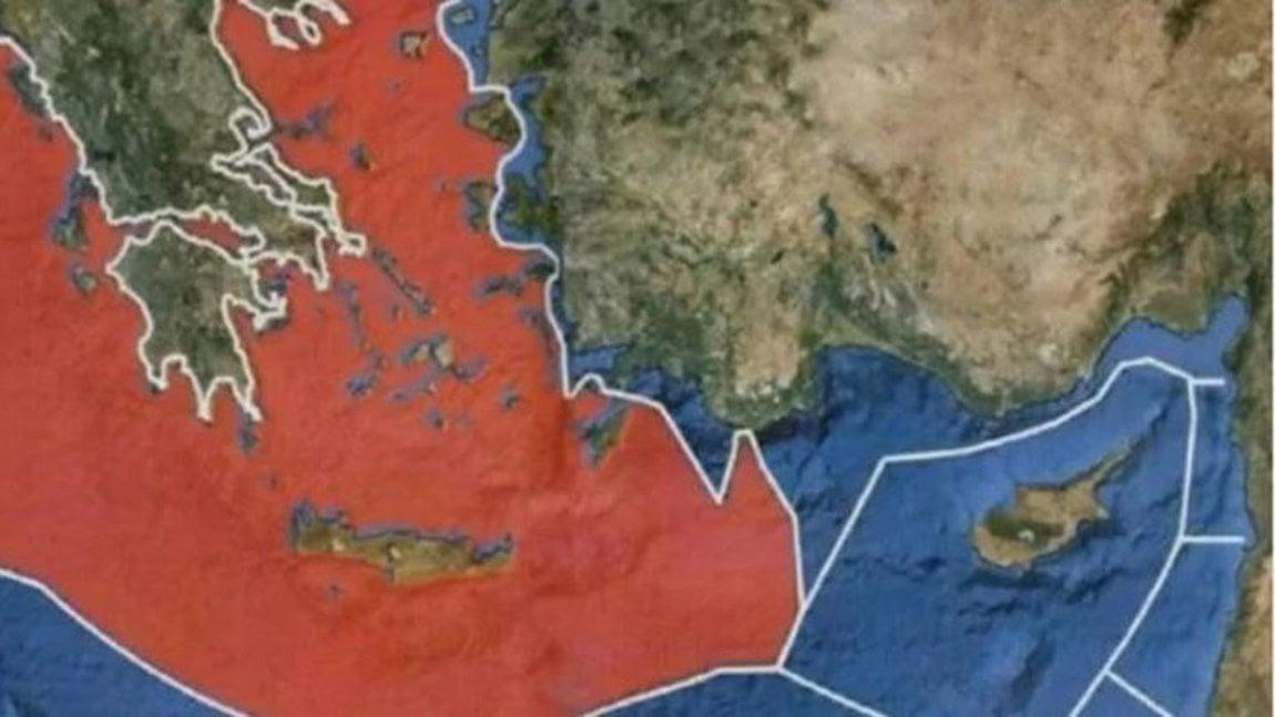 """Ο """"Χάρτης της Σεβίλλης"""" ενώνει τις ΑΟΖ Ελλάδος-Κύπρου – Γιατί τον """"ακύρωσαν"""" οι ΗΠΑ, βάζοντας πλάτη στην Τουρκία;"""
