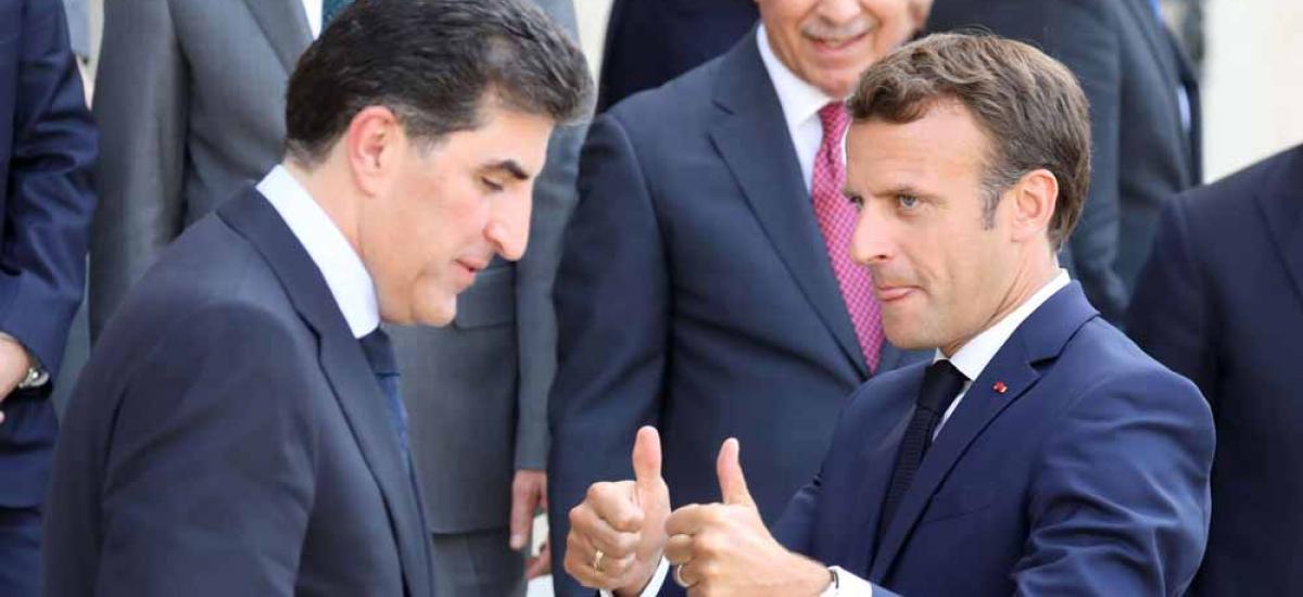 Κι άλλο χτύπημα στην Άγκυρα – Ο Μακρόν συναντάται με τον Πρόεδρο του Κουρδιστάν Ν. Μπαρζανί!