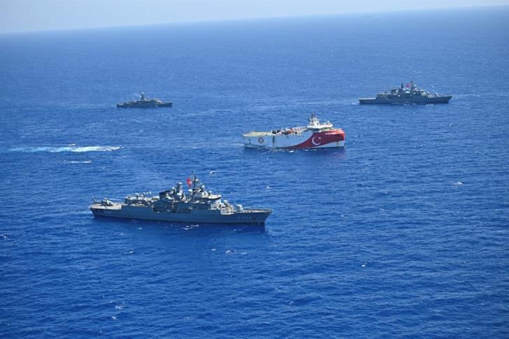 «Γενί Σαφάκ»: Ξανά με NAVTEX στο Καστελόριζο το Oruc Reis – Θα μείνει δύο μήνες