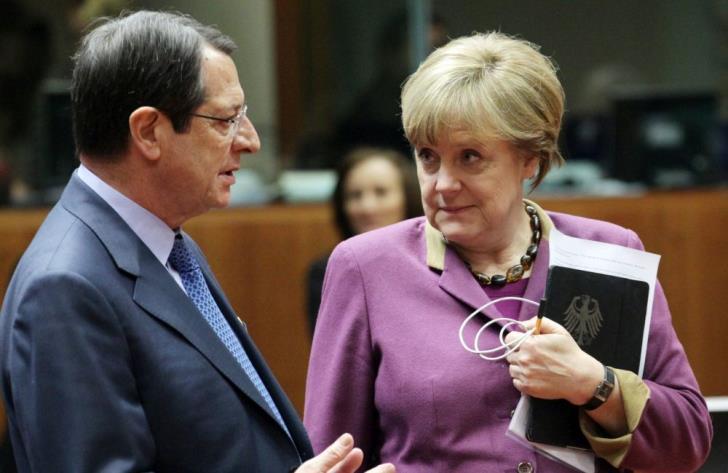 Τηλεφωνική επικοινωνία Ν. Αναστασιάδη με Μέρκελ και Κόντε – Πλήρης στήριξη στην Κύπρο