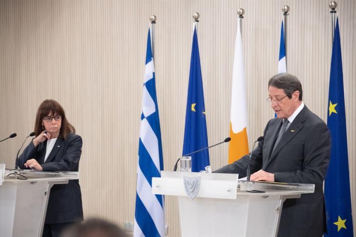 Αρραγές μέτωπο Ελλάδας – Κύπρου