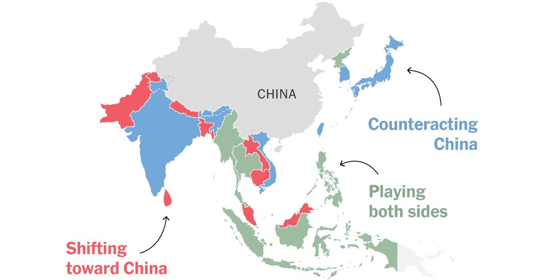 Οι Γεωστρατηγικές Αλλαγές που προωθεί η Κίνα στην Ασία