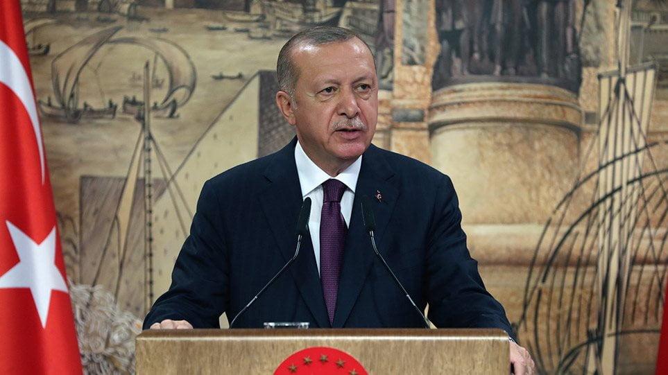 Τ. Ερντογάν: Απορρίπτει το αίτημα Γαλλίας, Ρωσίας, ΗΠΑ για εκεχειρία στο Ναγκόρνο Καραμπάχ