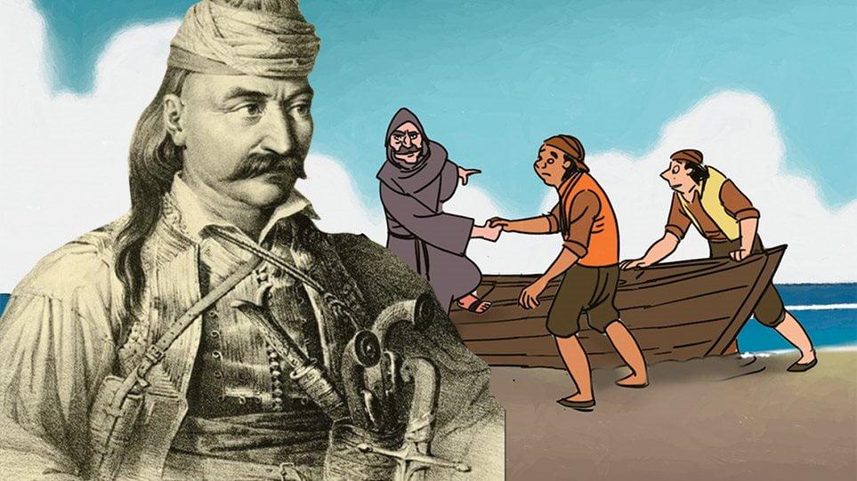 Ο Θεόδωρος Κολοκοτρώνης έγινε ήρωας κόμικ αλα… marvel και ταξιδεύει ανά τον κόσμο