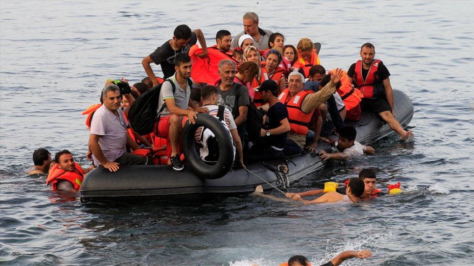 Στο φως έκθεση για διακίνηση μεταναστών στο Ανατολικό Αιγαίο