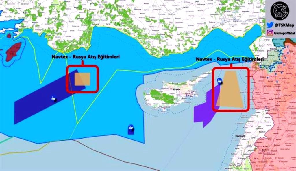 «Πανηγυρίζει» για τις NAVTEX με τις Ρωσικές ασκήσεις η Yeni Safak – Τα πραγματικά γεγονότα