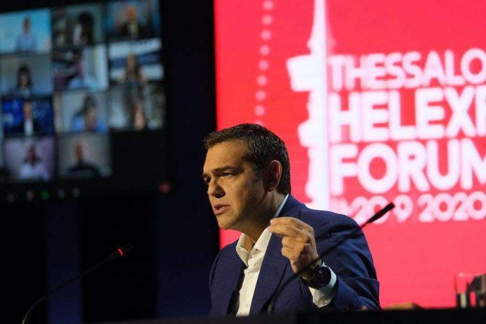 """""""Καμία συζήτηση για """"γκρίζες ζώνες"""" και αποστρατιωτικοποίηση"""" λέει ο Τσίπρας- Τι είπε για εξοπλισμούς-θητεία"""