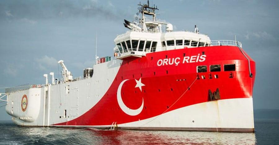 Το Oruc Reis ερεύνησε 6 κοιτάσματα νότια του Καστελόριζου και ήταν άδεια – Προς αλλαγή στρατηγικής της Τουρκίας στο Αιγαίο;