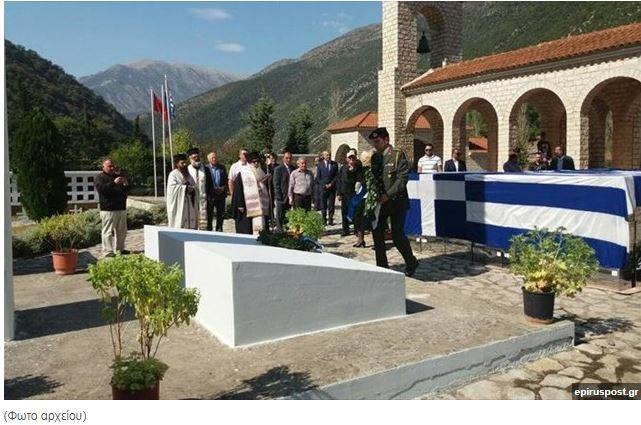 Αλβανία: Στα νεκροταφεία των Ελλήνων πεσόντων στη Β. Ήπειρο ο εορτασμός του «ΟΧΙ»