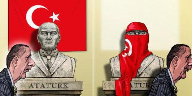 Οι μπλόφες Ερντογάν και το… ξήλωμα του Κεμάλ