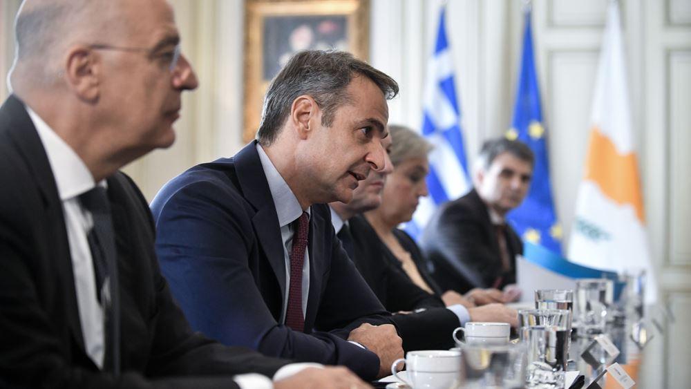 Ντεμαράζ διπλωματικών κινήσεων της Αθήνας, με στόχο να… πονέσει ο Ερντογάν