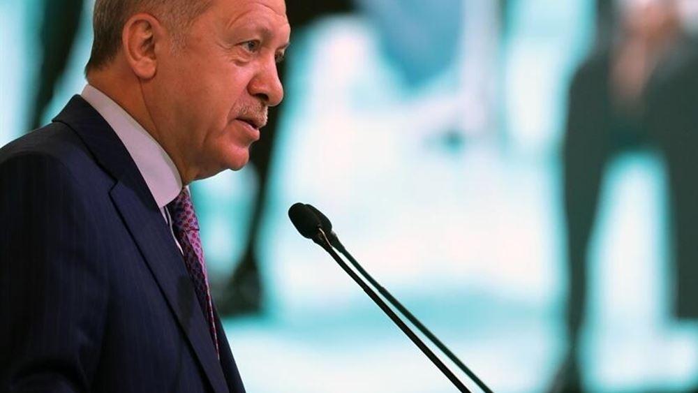 Νέες απειλές Ερντογάν: Επιφυλάσσουμε εφιάλτες για όσους προσπαθούν να μας εγκλωβίσουν στην ανατολική Μεσόγειο