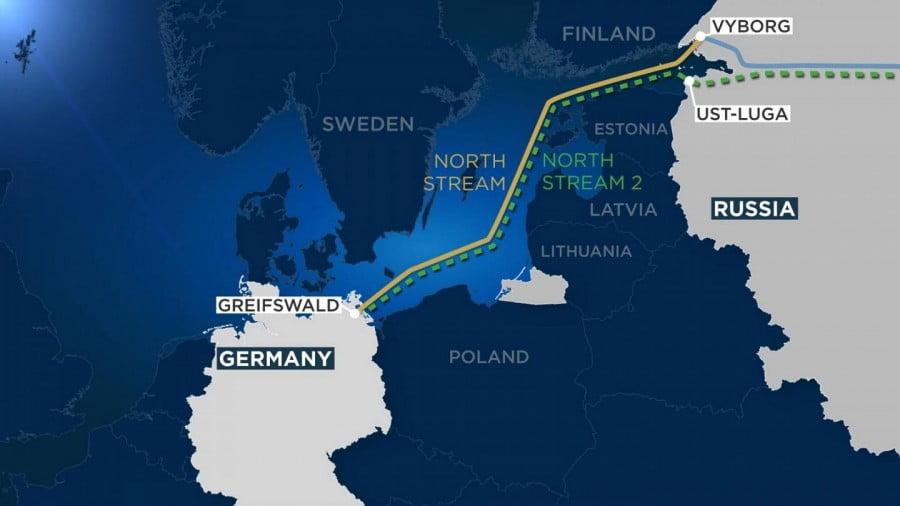 Συνεχίζεται η ένταση στη διαμάχη ΗΠΑ και Γερμανίας για τον αγωγό Nord Stream 2
