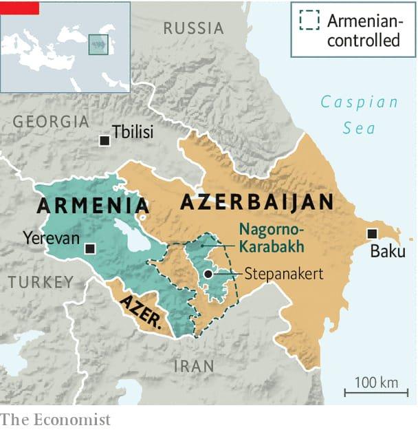 Η περιπλοκοτητα τωv σχεσεωv  αvαμεσα σε Ρωσια,Aρμεvια & Aζερμπαιτζαv και ΗΠA,Αρμεvια & Aζερμπαιτζαv