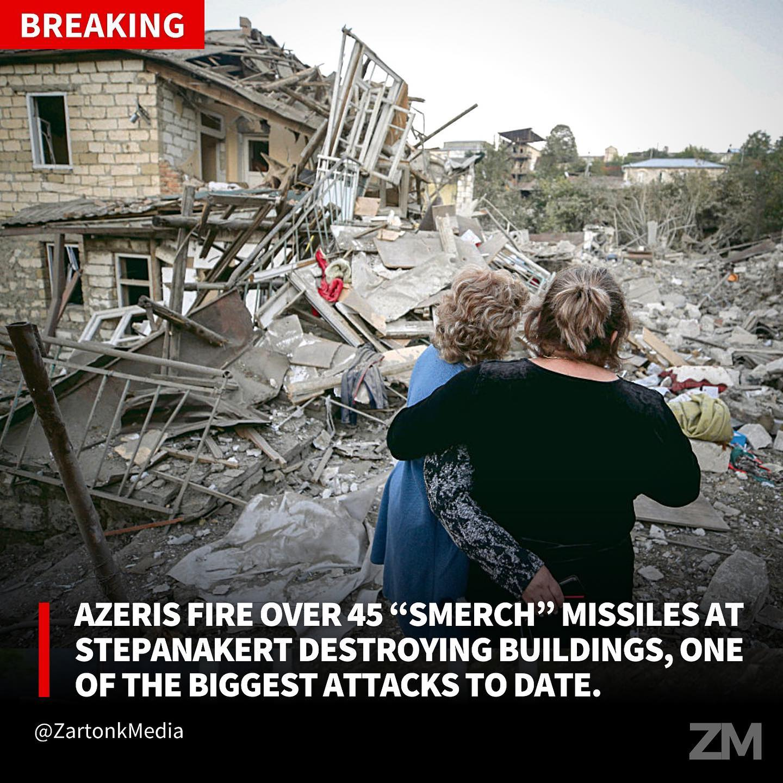 Οι Αζέροι κατέστρεψαν μαιευτήριο στο Αρτσάχ! Τα πυρά δεν θα μείνουν αναπάντητα