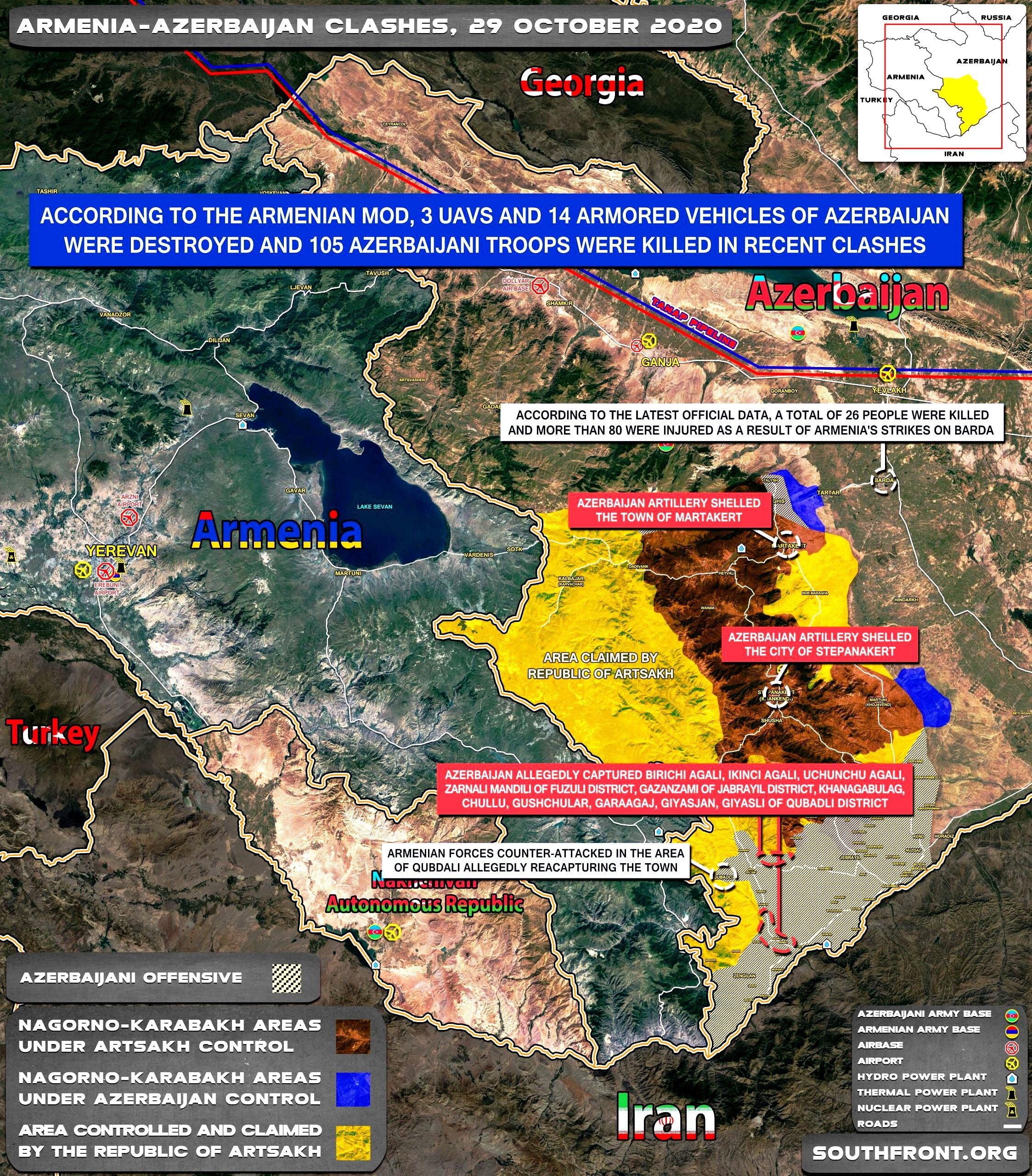 Τι ενδιαφέρει τους Ρώσους στον πόλεμο στο Ναγκόρνο-Καραμπάχ;
