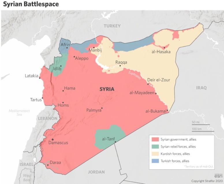 Stratfor : Οι ΗΠΑ χτυπούν τώρα την πόρτα της Δαμασκού