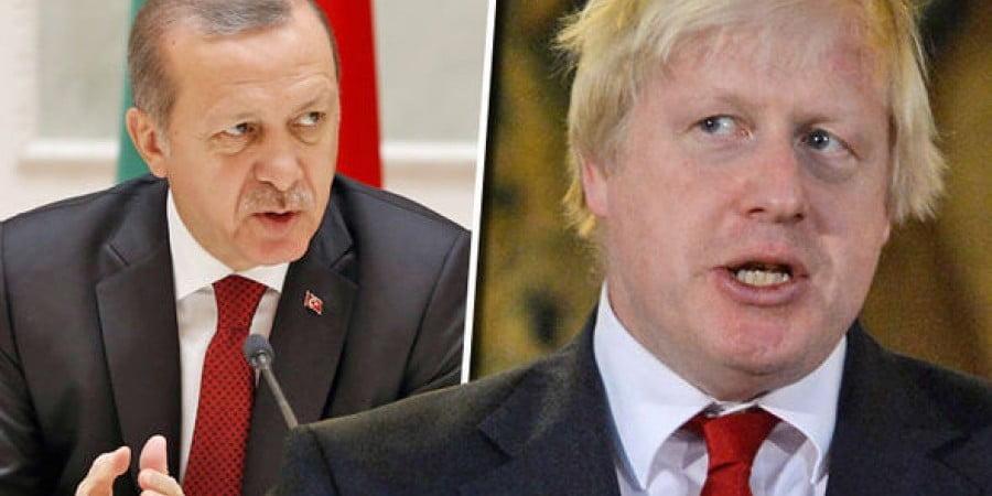 """Άρθρο κόλαφος των """"Times"""" του Λονδίνου: Το παιχνίδι της Τουρκίας είναι θανατηφόρο & ο Τζόνσον το γνωρίζει καλά"""
