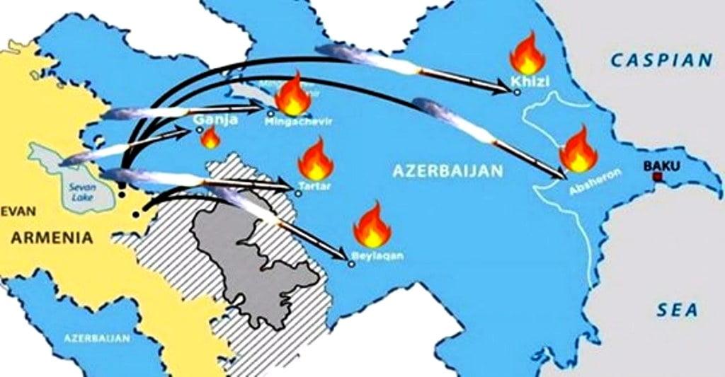 Σφοδρή επίθεση του Αζερμπαϊτζάν λίγο πριν τεθεί σε ισχύ η συμφωνία για κατάπαυση του πυρός