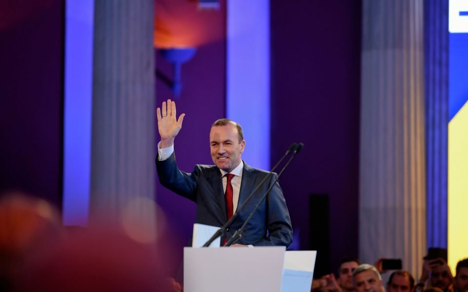 Βέμπερ στην «Κ»: «Ναι» στην αναστολή της τελωνειακής ένωσης Ε.Ε.-Τουρκίας