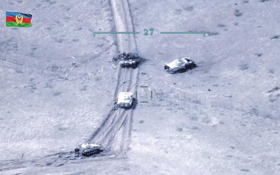 SOS! Οι φονικές μηχανές που πετούν πάνω από τα κεφάλια των Αρμενίων
