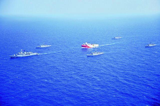 Απίστευτο! Το Oruc Reis έφθασε μια «ανάσα» από το όριο των 6 ναυτικών μιλίων