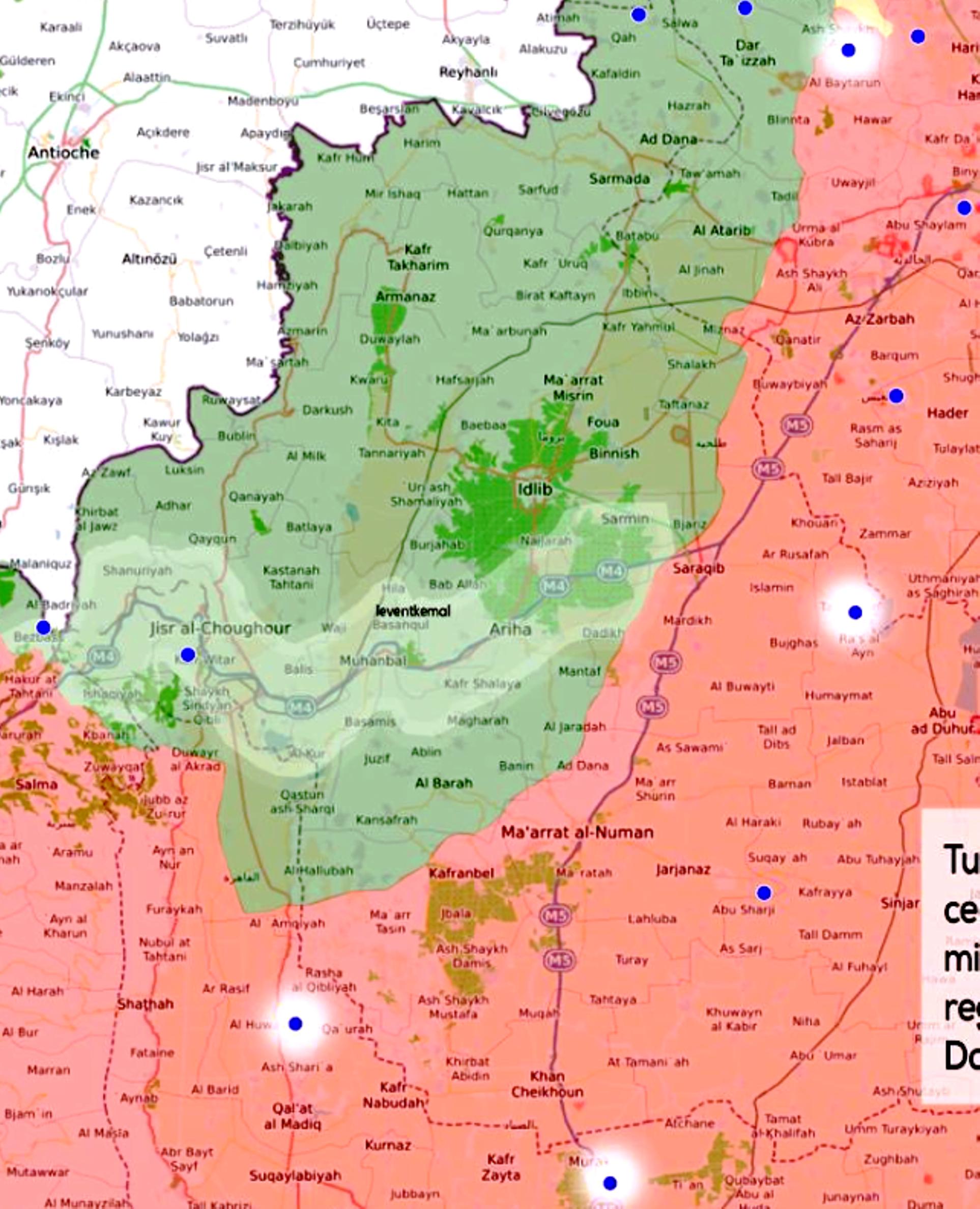 Συρία: Οι Τούρκοι φεύγουν με την ουρά στα σκέλια από την Ιντλίμπ — Αποσύρεται ο τούρκικος στρατός εισβολής από 9-10 παρατηρητήρια…