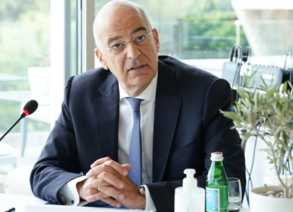 Oruc Reis – Μήνυμα Δένδια: Η Τουρκία ενεργεί ως ο υπονομευτής της ειρήνης και της σταθερότητας