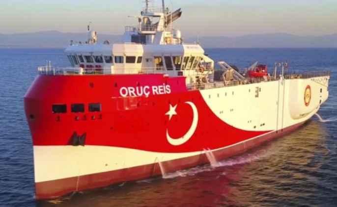 Η Τουρκία εξέδωσε νέα Navtex για το Oruc Reis: Οι έρευνες παρατείνονται μέχρι τις 27 Οκτωβρίου