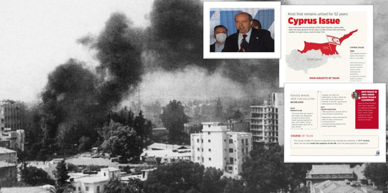 Το «Anadolu» υπενθυμίζει: Τα δύο κράτη συζητούνται από το 1968