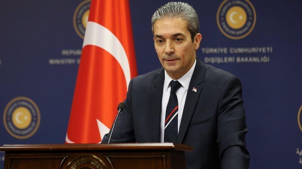 Τουρκικό ΥΠΕΞ κατά Δένδια: Γελοίοι οι ισχυρισμοί για τα Βαρώσια