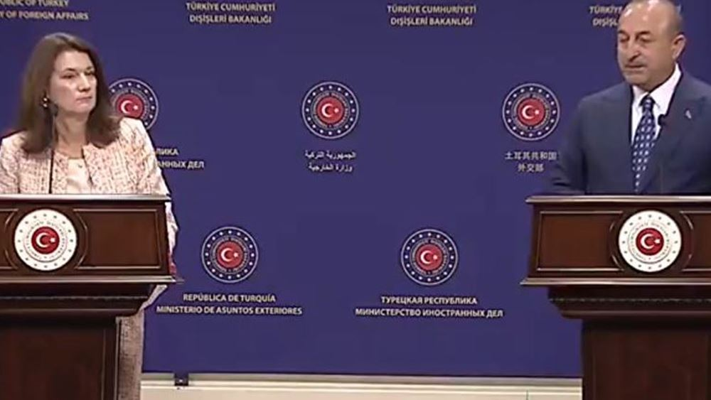 """Ντόμπρα δήλωση από τη Σουηδή ΥΠΕΞ μέσα στην Άγκυρα! Έβαλε στη θέση της την Τουρκία: """"Να αποσυρθεί από τη Συρία και να μην παραβιάζει την ΑΟΖ της Κύπρου"""" – Εκνευρισμένη αντίδραση από Τσαβούσογλου"""