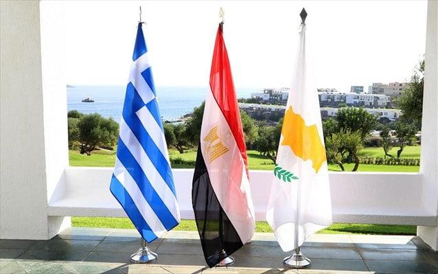 Τριμερής συνάντηση Ελλάδας-Κύπρου-Αιγύπτου στη Λευκωσία
