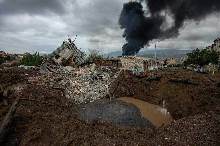 Εικόνες μέσα από τη φρίκη του πολέμου