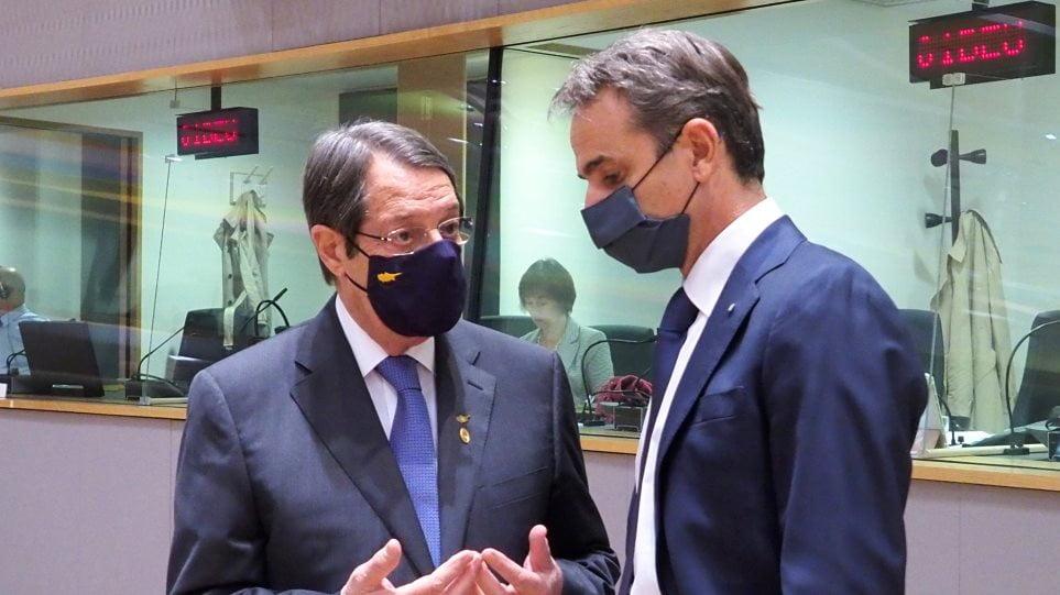 Μητσοτάκης και Αναστασιάδης άντεξαν στις πιέσεις, πάλεψαν και «πέρασαν» τα μηνύματα για την Τουρκία στην Σύνοδο Κορυφής