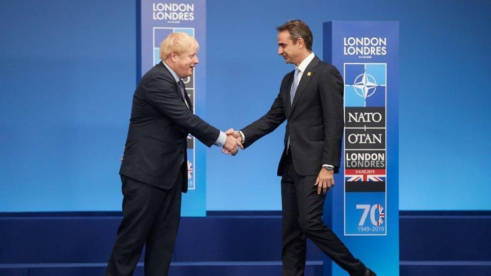 Επικοινωνία Μητσοτάκη – Τζόνσον: Κυπριακό και Brexit στο τραπέζι