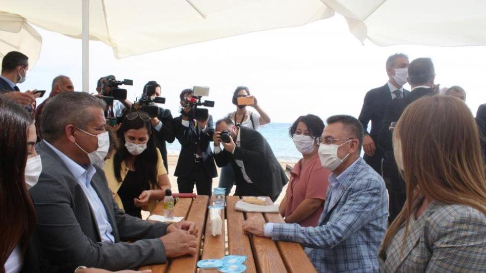 Ο Τούρκος αντιπρόεδρος Φουάτ Οκτάι μπήκε στην Αμμόχωστο – Καταγγελία στον ΟΗΕ από τη Λευκωσία