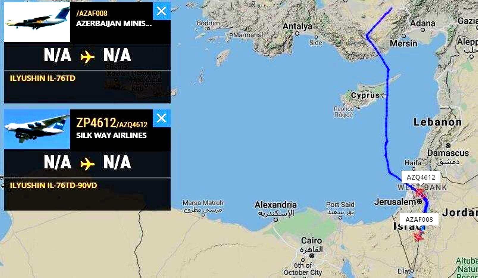 To Ισραήλ ενισχύει στρατιωτικά το Αζερμπαϊτζάν