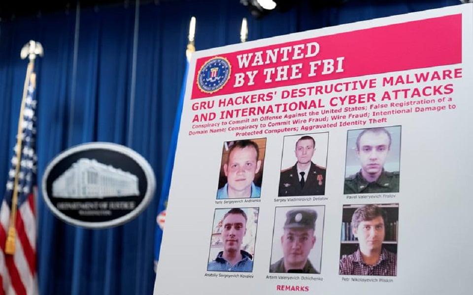 ΗΠΑ: Δίωξη κατά έξι Ρώσων για σειρά διεθνών κυβερνοεπιθέσεων