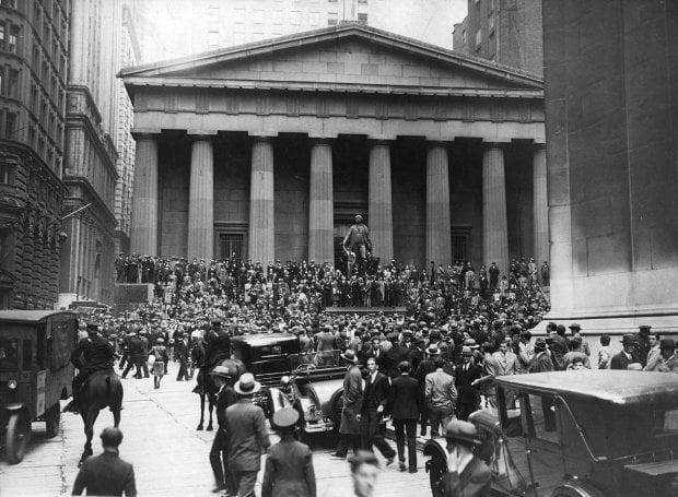Η Χρηματιστηριακή Κρίση του 1929