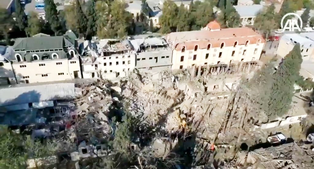 Μήπως χρησιμοποίησε η Αρμενία έναν πύραυλο εδάφους-εδάφους 9K720 Iskander στη Γκαντζά;
